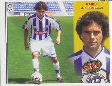 KAIKU # ESPANA RC.RECREATIVO LIGA 2003 ESTE STICKER CROMO