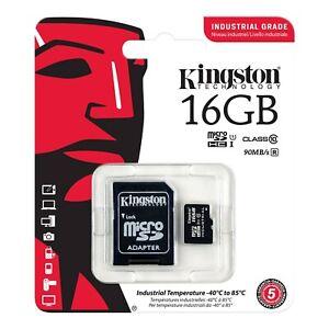 Kingston Industrial Temperature 16 GB Micro SD Karte Speicherkarte MicroSDHC