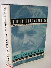 WINTER POLLEN Ted Hughes OCCASIONAL PROSE 1st Edition Essays POETRY Classic