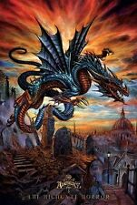 Poster Alchemy - The Highgate Horror Flying Gothic Dragon 24x36 Art New