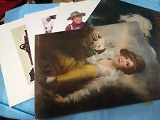 Three Norman Rockwell & Two Prints From Schiff-lb