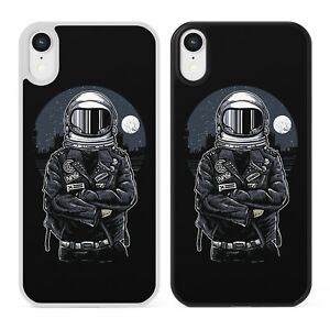 ASTRONAUT REBEL Phone Case Cover iPhone Samsung Space Galaxy Biker Funny Nasa