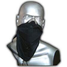 RESPRO BANDIT COTTON ANTI-POLLUTION SCARF / MASK - PLAIN BLACK