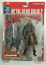 Metal Gear Solid 2 Sons of Liberty McFarlane Toys 2001 New Sealed