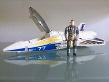 M.A.S.K. Meteor Stunt Jet Ace Riker Kenner Series 3 Vintage 1987