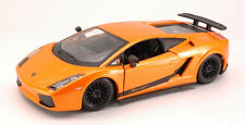 Lamborghini Gallardo Superleggera 2007 Orange 1:24 Model 22108OR BBURAGO