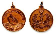 Medaglia Sanità Militare Marittima - Ardet In Undis Charitas Bronzo Diametro