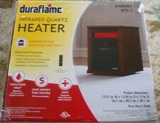 Duraflame #9HM1000-C240 5,200 BTU 1500W Infrared Electric Heater - Rose Cherry