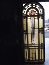 Antique Stain Glass Windows In Woodframe Youngstown's Finest Number 1 Of 4