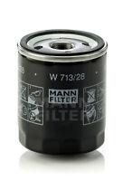 Oil Filter  MANN-FILTER  W713/28