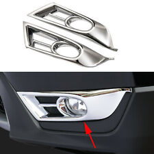 Car Parts For 2017-2019 Honda CR-V CRV 5th Front Fog Light Fog Lamp Frame Cover