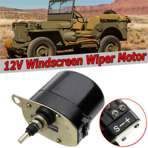 12V Windscreen Wiper Motor For Willys Jeep Tractor Universal