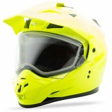 GMax GM11S Snow Helmet-Hi-Vis Yellow