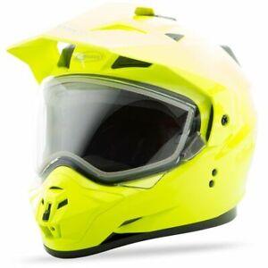 GMax GM11S Snow Helmet-Hi-Vis Yellow