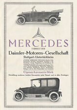 Daimler Motoren Gesellschaft Mercedes Stuttgart Plakat Braunbeck Motor A2 460