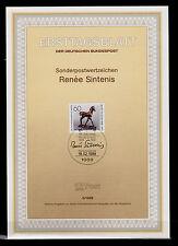 Berlin BRL 1988 MiNr. 805 ESSt  ETB 5/1988 Renee Sintenis SSt Deutschland
