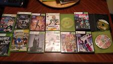 14 Xbox 360 Game lot Used Star Wars, Dance Central, Assassins Creed, Batman Sega