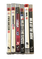 Sony Playstation 3 Ps3 Game Lot Of 6 Sports Game Lot Tested Working