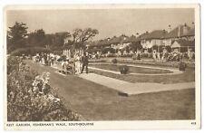 Southbourne - Fishermans Walk Rest Garden - Postcard - By Dearden & Wade, #680