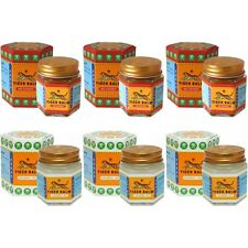 GENUINE TIGER BALM PACK OF SIX - THREE RED 30g + THREE WHITE 30g  *TRACKED POST*