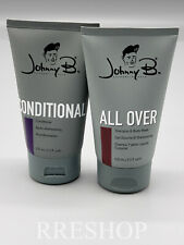Johnny B. All Over Shampoo & Body Wash & Conditioner Set.
