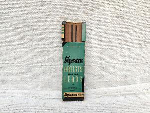 1960s Vintage Hindustan Pencils Pvt. Ltd. Apsara Artists Refill Leads Paper Box