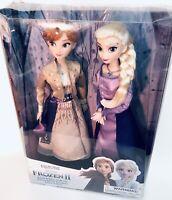"Disney Store Anna and Elsa Classic Doll Set – Frozen 2 - 11.5"""