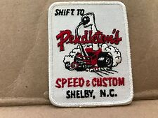 """VINTAGE 1960'S EMBROIDERED PENDLETON'S SPEED & CUSTOM JACKET PATCH  4"""" X 3"""""""