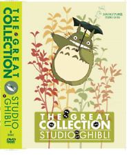 DVD The Great Totoro Studio Ghibli Collections 23 Movies + Concert Eng Dub Anime
