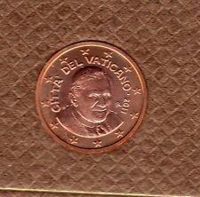 Vatican 2011 - 2 Centimes D'Euro - 94 000 exemplaires Provenant du BU RARE