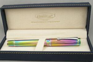 Conklin Duragraph Rainbow Special Edition Fountain Pen - New - JoWo Omniflex Nib