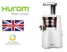 ~ Hurom H-AA Slow Juicer Juice Maker FRUTTA Alpha H-AA-WWE17 White Top Design ~
