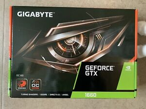 GIGABYTE GeForce GTX 1660 OC 6G Graphic Card New & Sealed 3 Year Warranty