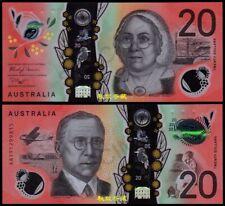 Australia 20 Dollars, (2019), Sign.10: Lowe-Gaetje, AA19 Prefix, Polymer, UNC