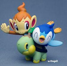 Nintendo POKEMON Limited Figure TURTWIG CHIMCHAR PIPLUP Diamond & Pearl JAPAN FS