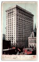 1907 Frick Building and Courthouse, Pittsburgh, PA Postcard