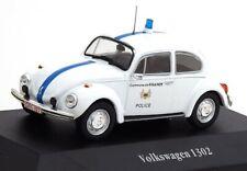 Atlas Police Car, VW 1302 Belgien, Bau. 1970, Maß. 1:43, OVP und Neu im Karton.