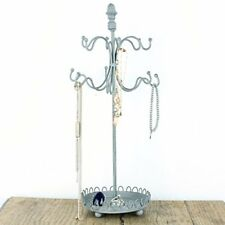 Jewellery Hanger Holder Stand Metal Shabby Chic Necklace Earrings Bracelet