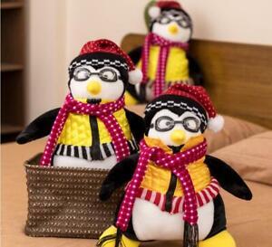 10.5'' TV Series Friends Joey's Hugsy Penguin Plush Toy Stuffed Doll Xmas Gift