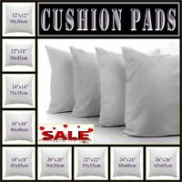 "Hollowfibre Cushion Inner Inserts Fillers 12"",14"",16"",18"",20"",22"",24"",26 Sale ON"