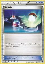 4X Switch (104/114) -Uncommon Trainer -NM- Black White Base Set-