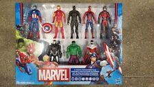 Marvel Avengers Action Figures - Iron Man, Hulk, Black Panther, Captain Americ..