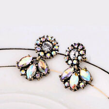 #1311 Crystal Small Earrings Retro hoop For Woman Christmas Gift