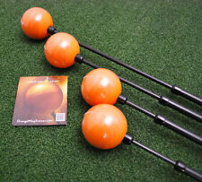 Orange Whip Driver Swing Trainer & Mid-Size - Combo 2pc Golf Aid SET - NEW