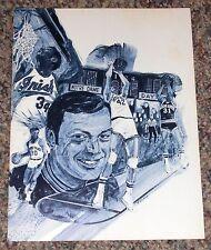 1974 Notre Dame Basketball Scorecard UCLA Win Streak Ends @ 88 Games + 30thAnniv