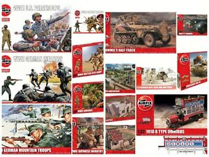 Airfix 1/32 ,Military Figures Vehicles & Outpost New Plastic Model Kit 1 32