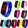 LED Digital Display Bracelet Watch Children's Students Silica Gel Sports Watches