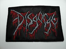 DISGORGE   EMBROIDERED  PATCH