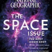 National Geographic Magazine August 2017 The Space Issue Fastest Sharks Voyager
