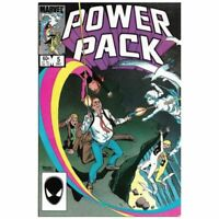 Power Pack (1984 series) #5 in Very Fine condition. Marvel comics [*cc]